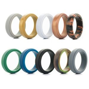 Silicone Wedding Ring 10 pack